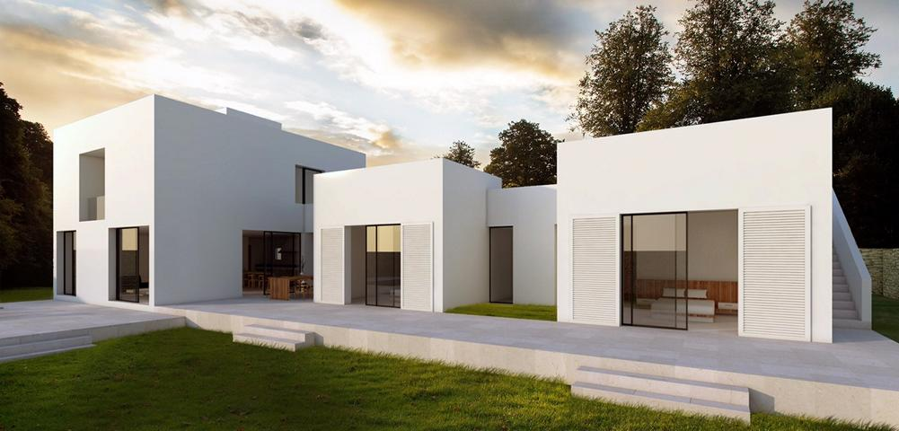 House with project to refom in Roca Lisa